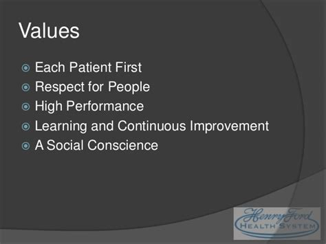 Henry Ford Health System by Henry Ford Health System Presentation Lichtle