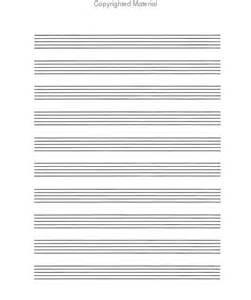 Music Writing Paper First Place Music Writing Paper Sheet Music Sku Sp Hm002