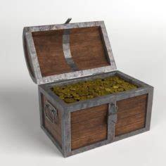 Max And Treasure Box by Lock 3d Model In Max Fbx C4d 3ds Stl Obj