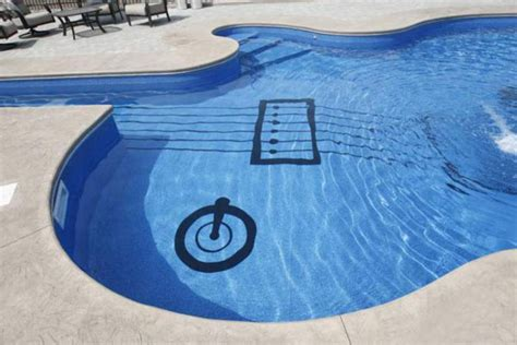 guitar shaped swimming pool guitar shaped swimming pool designshell
