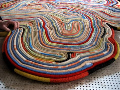 Rugs Made From Recycled Materials by Remy Veenhuizen Rug Made From Recycled Blankets