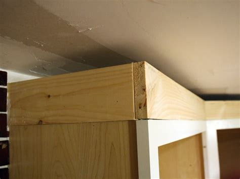 do you put crown molding in bathrooms how to install cabinet crown molding moldings cabinets