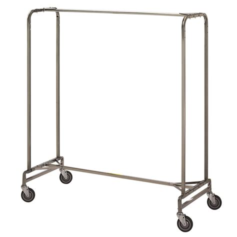 Clothes Rack by R B Wire 715 Portable Metal Single Bar Garment Storage