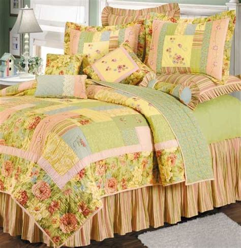 discount bedding garden melody quilt and bedspread