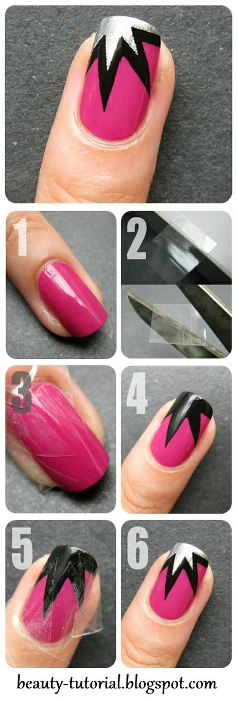 tutorial nail art designs lovely nail tutorials for all ages