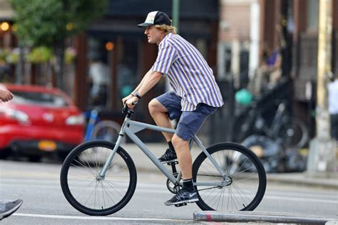 Owen Wilson Bikes To Clubs by Owen Wilson In Owen Wilson Goes For A Bike Ride Zimbio