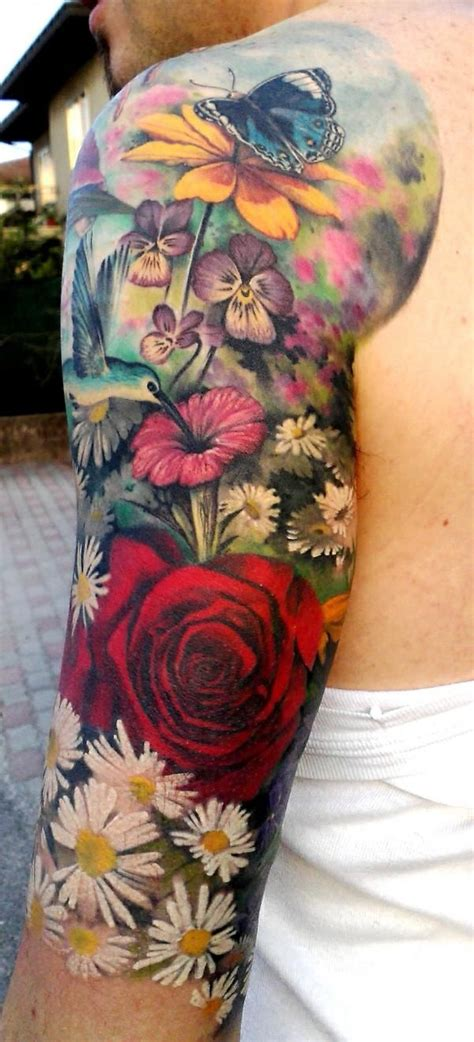 26 colorful half sleeve tattoo 25 best ideas about white on