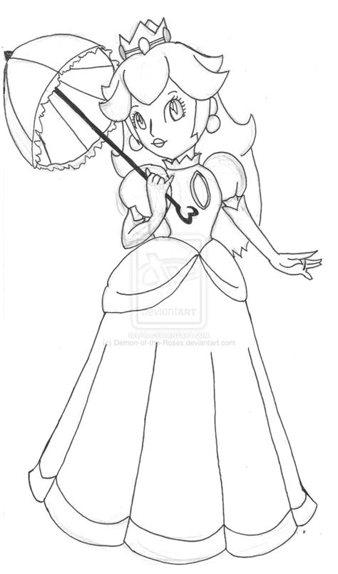 free coloring pages of peach