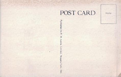 post card file cabins and hotel bettina clifton hill niagara