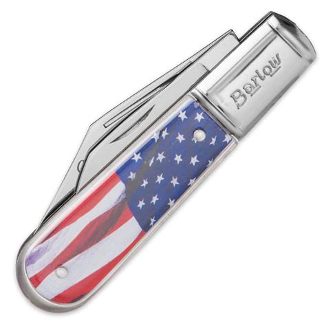 barlow knives usa flowing flag barlow pocket knife kennesaw cutlery