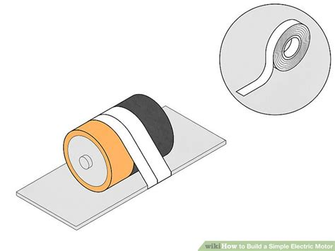 how to make a fan with dc motor how to build a simple electric motor 10 steps with pictures