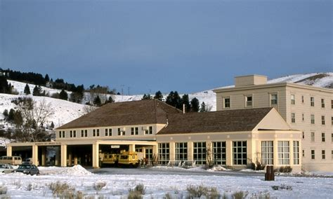 Mammoth Springs Hotel And Cabins Yellowstone National Park Wy by Mammoth Springs Hotel Cabins Yellowstone Alltrips