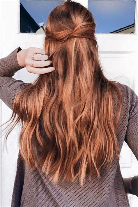Strawberry Balayage On Brown Hair Www Pixshark Images Galleries With A Bite Strawberry 20 Quot 160g Great Hair Is The Best Strawberry Hair Hair