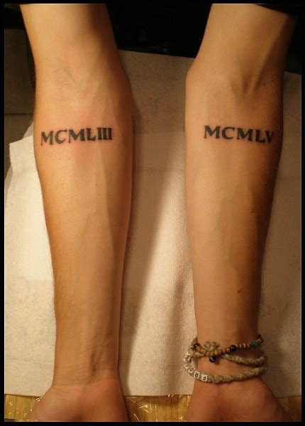 tattoo cost for roman numerals ink