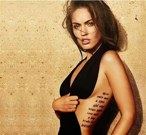 megan fox tattoo 8 best megan fox designs megan fox fox