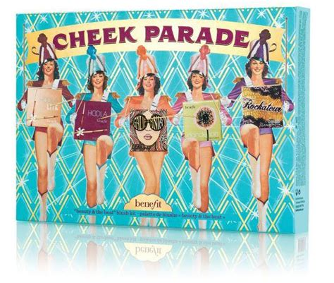benefit cheek parade blusher  bronzer palette spring