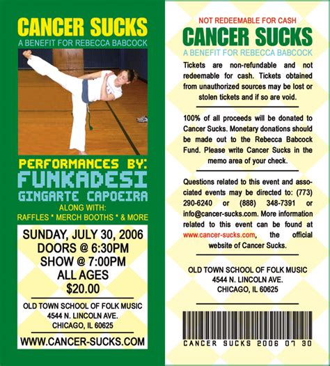 cancer benefit fundraiser flyer template pictures to pin