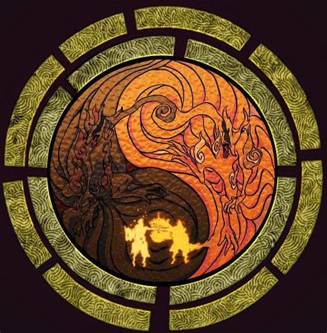 naruto yin yang imagenes kurama yin yang buscar con google zorro