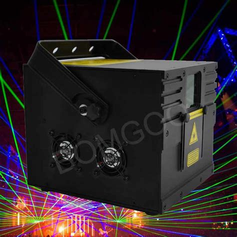 light projector laser 1 8w rgb laser light show projector for sale bomgoo