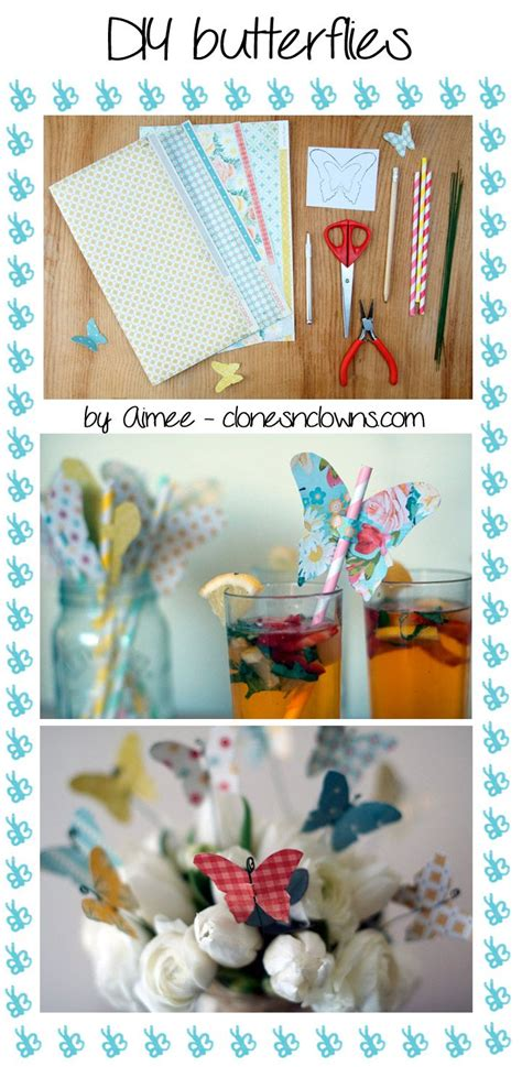 table decoration ideas summer party butterflies paper diy 38 best images about teacher appreciation on pinterest