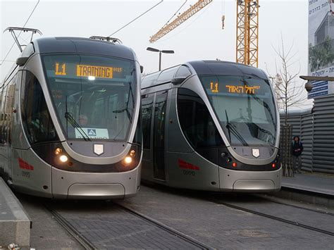 Light Rail System by Jerusalem Light Rail System Flickr Photo