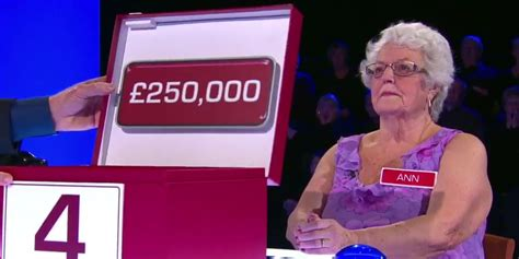 Deal Or No Deal Hands Out 163 250 000 As Pensioner Beats Deal Or No Deal