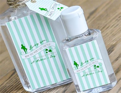 Ruff Draft Making Lucky You Hand Sanitizer Printable Labels Anders Ruff Custom Designs Llc Personalized Sanitizer Label Template