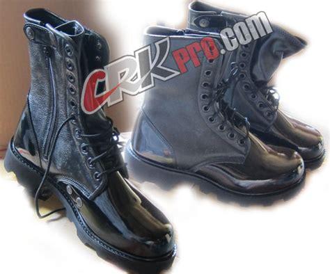 Sepatu Boot Petani sepatu pdl kulit model kiwi polisi militer tni abri