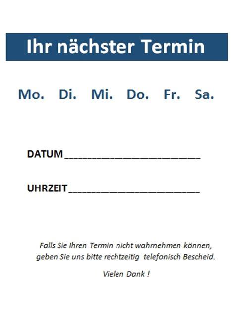 Word Vorlage Abreißzettel Word Terminzettel Vorlagen Office Lernen