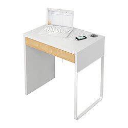 micke desk white birch effect ikea for in cupboard