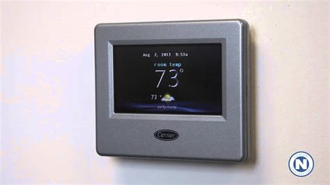 Carrier Infinity Carrier Infinity Wifi Thermostat Intro 1 Of 7