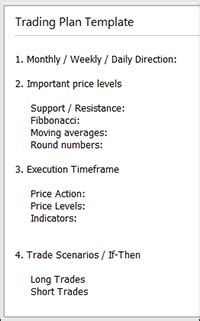 Forex Trading Plan Template 11 Lessons I Ve Learned From Day Trading Business Plan Template