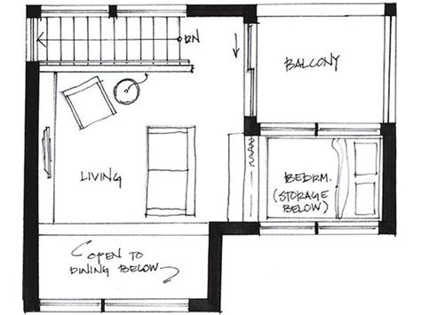 upper living house plans westcoast500 1 upper upstairs small house floor plan