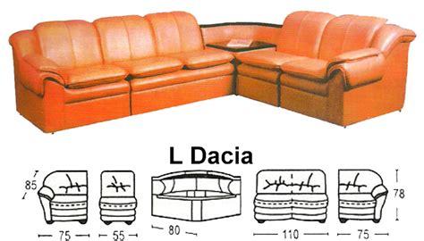 sofa l sentra type l dacia daftar harga furniture dan