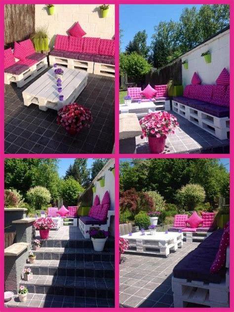salon de jardi bricolage bois de palette on lit palette salons and deco