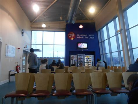 the waiting room lounge world borders getting the belfast to birkenhead ferry northern ireland to