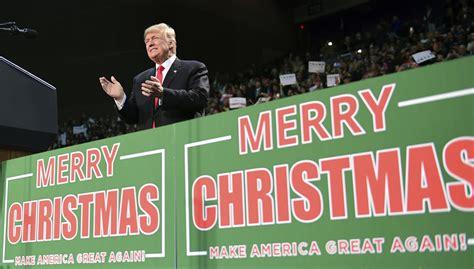 merry christmas  happy holidays   trump   brain chicago tribune