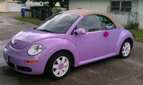 how petrol cars work 2007 volkswagen new beetle interior lighting custom painted lavender new beetle convertible great condition daisy rims