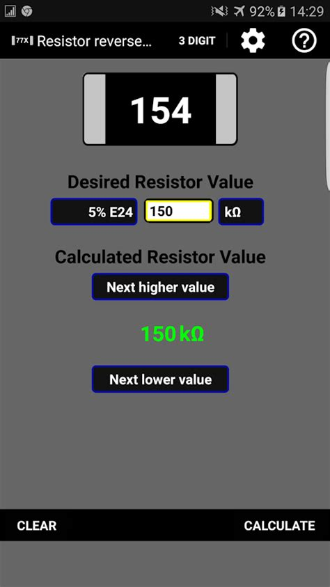 surface mount resistors calculator resistor smd code calculator android apps on play