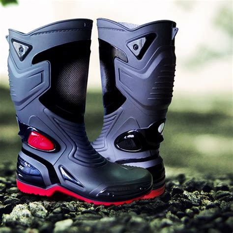 Sepatu Ap Boots Moto 3 Karet Pvc sepatu ap boots moto 3 solusi keamanan berkendara anda oto trendz