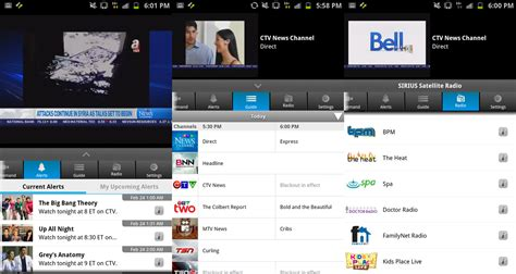 mobile tv app for android preview bell mobile tv for android live and on demand android central
