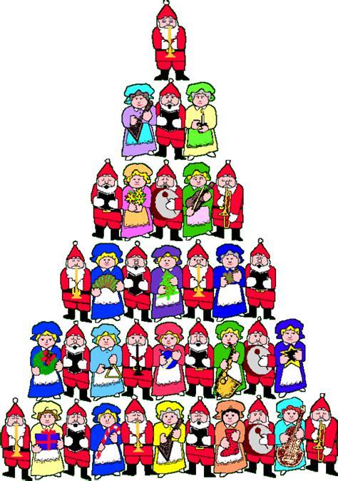 santacruz with christmas tree animated tree with santa claus animated gif by ladyfire photobucket