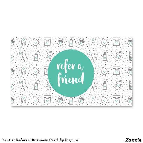 Dental Referral Card Template by Dentist Referral Business Card Business Card Business
