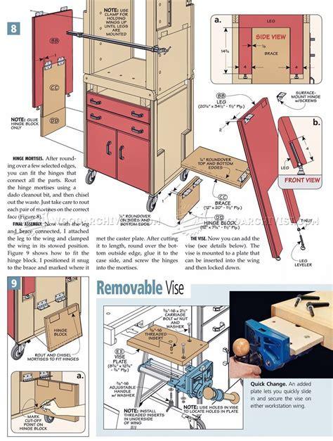 Folding Workshop Plans ? WoodArchivist