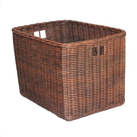 Keranjang Anyaman wira multi agung kerajinan anyaman rotan dan bambu