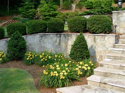 Front Garden Wall Ideas Landscape Design Contractors Walkways To Front Door Front Steps And Walkway Design Ideas