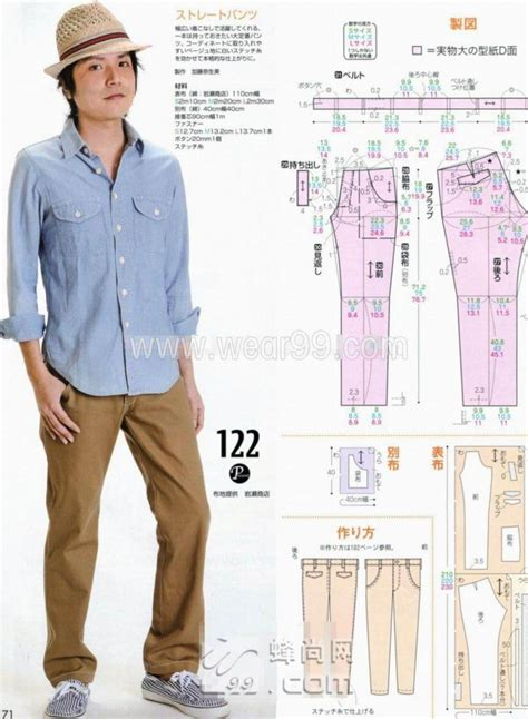sewing pattern jeans mens 7 best images about sewing mens clothing on pinterest