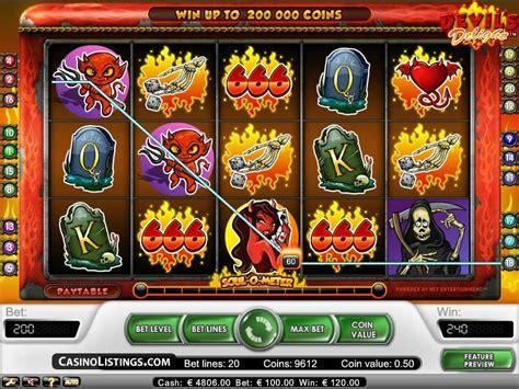 devils delight slot machine casino listings  games