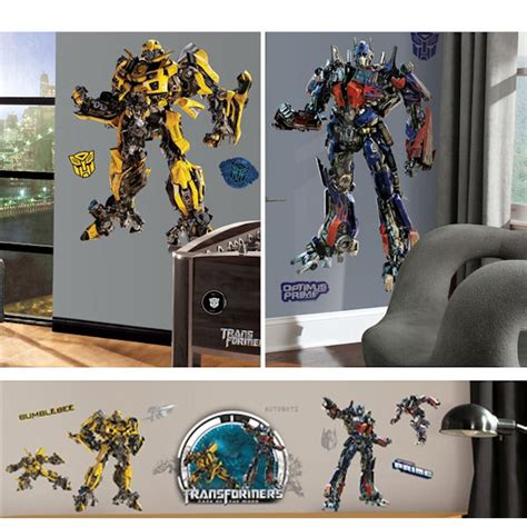 transformers decal room package 2