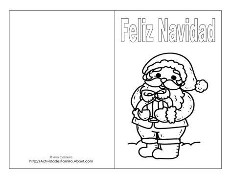 dibujos de navidad para colorear tamaño carta tarjetas de navidad para imprimir y colorear